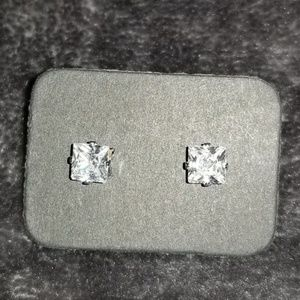 RESTOCKED! Small Princess Cut Earrings
